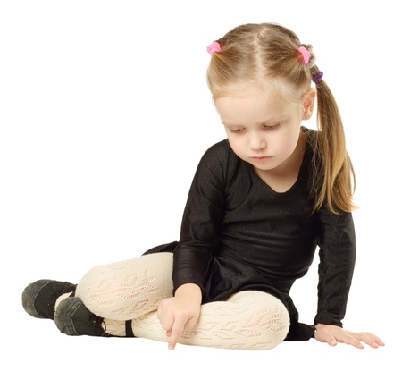 Young daughter pantyhose video