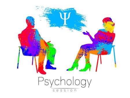 De psycholoog en de klant.