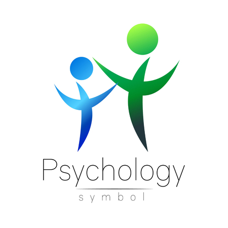 Modern people psi Sign of Psychology.