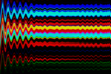 old photo: Glitch psychedelic background. Old TV screen error. Digital pixel noise abstract design. Photo glitch. Television signal fail. Technical problem grunge wallpaper. Colorful noise