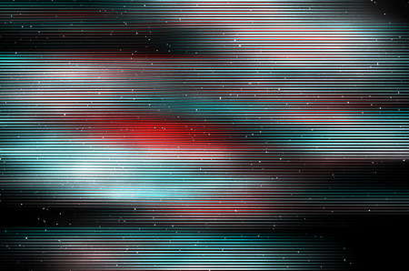 Glitch psychedelic background. Old TV screen error. Digital pixel noise abstract design. Photo glitch. Television signal fail. Technical problem grunge wallpaper. Colorful noise