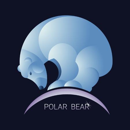 floe: Polar bear