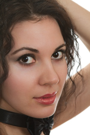 portrait of a beautiful russian girl Stock Photo - 10298669