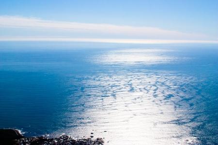 atlantic ocean in Cape Town Stock Photo