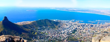 panorama of the coast of Cape Town, South Africa. more photos from this series in my portfolio! Stock Photo