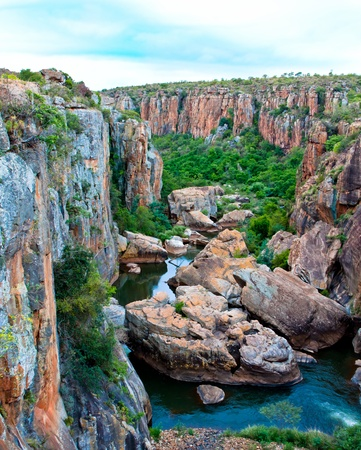 panorama of  Blyde River Canyon, South Africa. more photos from this series in my portfolio! photo