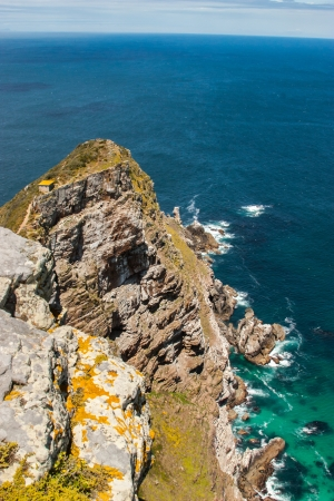 Cape of Good Hope. Cape Peninsula Atlantic ocean. Cape Town. South Africa view from Cape Point photo