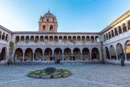 santo domingo: Church of Santo Domingo, Coricancha,Cusco, Peru,South America  Build on ruins of  Incan Temple of the Sun The  Santo Domingo