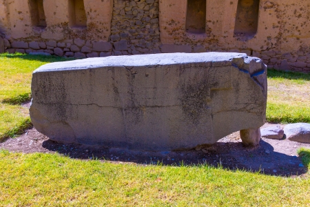 conquered: Peru, Ollantaytambo-Inca ruins of Sacred Valley in Andes mountains,South America. It was royal estate of Emperor who conquered during Inca Empire.