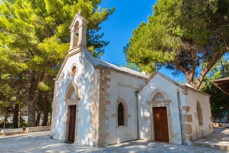 Old monastery Arkadi in Greece, Chania, Crete. Greek travel Stock Photo - 29231704