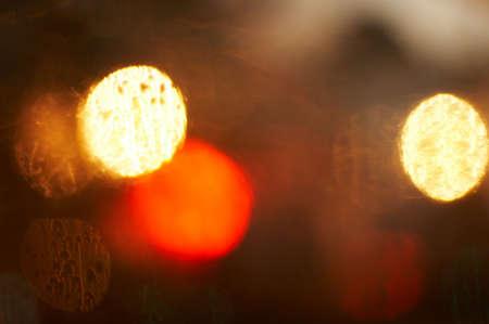 blur through glass Stock Photo