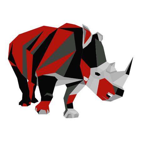 nashorn: Rhino Abstrakt