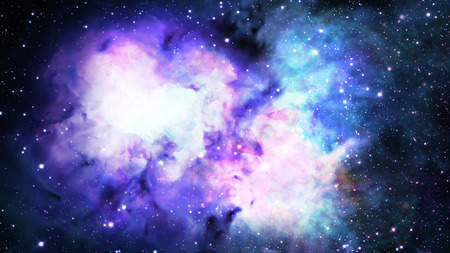 Water color space background