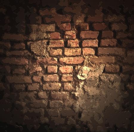 grunge brick background Stock Photo - 9502534