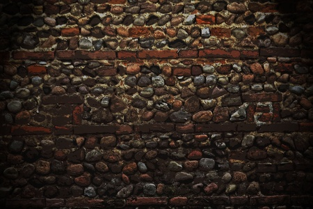 medieval stone wall background Stock Photo - 9616829