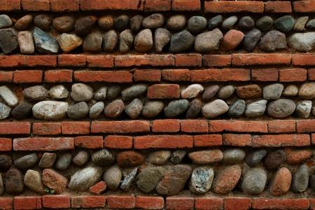 Medieval brick wall Stock Photo - 9674379