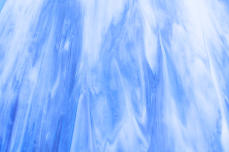 opalescent: texture blue gradient from a molten glass opalescent Stock Photo