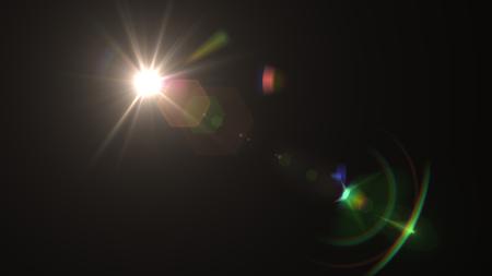 Beautiful light flares