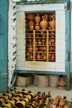 medium group of objects: Oven for drying clay pots on the island of Rhodes