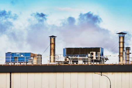 exhaust gases: Fuming plant for chips