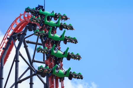 q: Roller coaster in Fuji Q Highland Japan