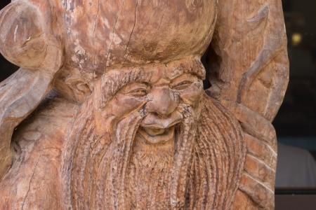 teak: China and Japan style Teak wood carving