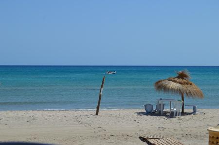 チュニジアのビーチ 報道画像
