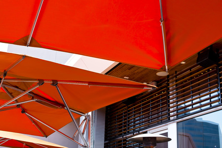 A modern canopies from the sun