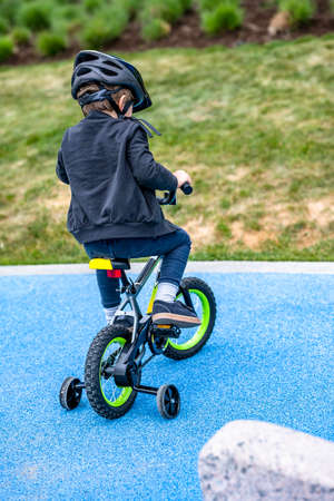 To teach child to ride bike from childhood - this is absolutely necessary that while riding bicycle the child acquires balance skills develop muscles learn to obey rules and follow to the parents