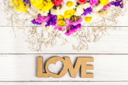 사랑과 식물 배경