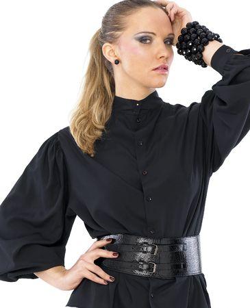 Beautiful fashion model Stock Photo - 4171136