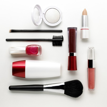 makeup set Stock Photo