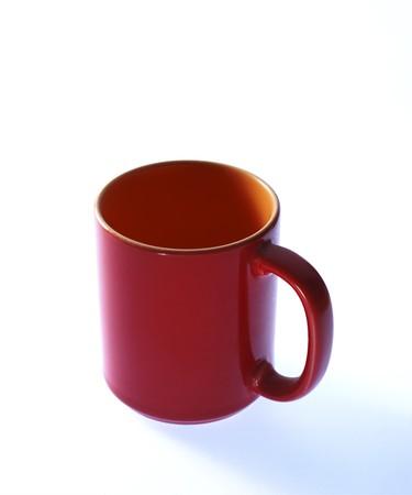 mug red Stock Photo - 4269148