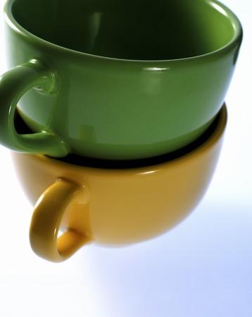 empty cups pile photo