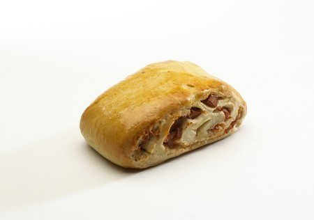 upperdeck view: stuffed bread Stock Photo