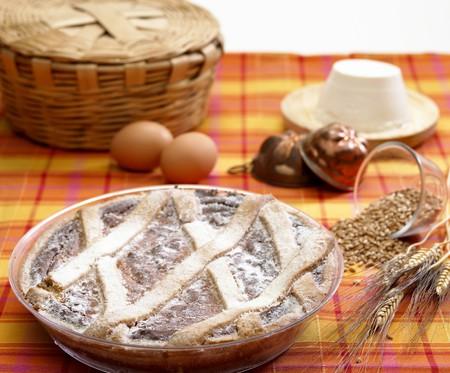 pastiera neapolitan Stock Photo - 4310556