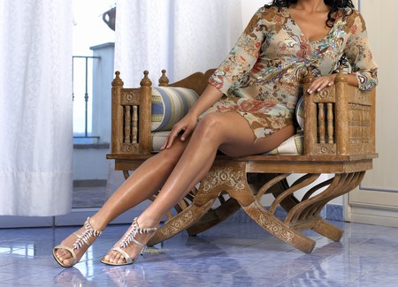 nice legs woman Stock Photo - 4310662