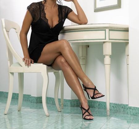belles jambes: belle femme, les jambes