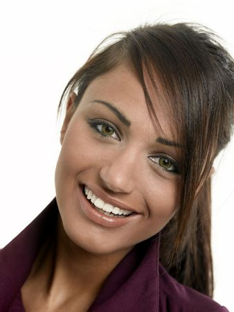 young to old: Beautiful woman with a very confident, freindly smile.
