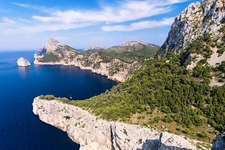 Panorama of Mallora Island - Balearic Islands