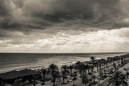 seafront: Seafront in Hammamet