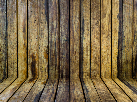 wood panel: Wood panel texture  wall interior background  perspective