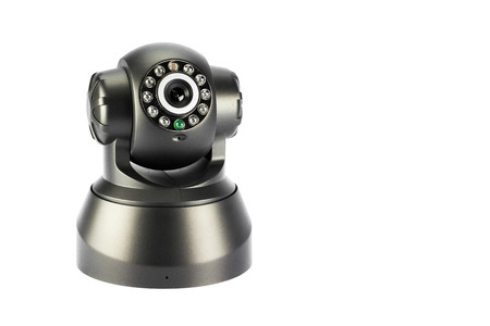 ip camera: IP Camera in isolate background