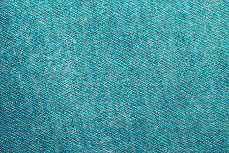 Texture of green jeans background Foto de archivo
