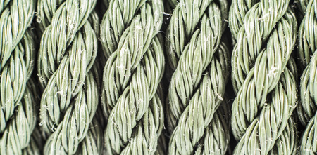 nylon: Patterns or texeure of old nylon rope.