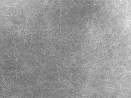 blackwhite: texture of scratches  black&white plate for background. Stock Photo