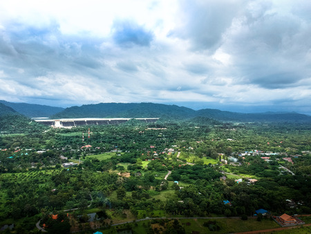 Khun Dan Prakan Chon Dam. Thailand