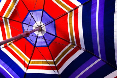 colorful of umbrella