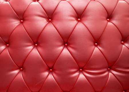 Red blue upholstery leather as texture and pattern photo