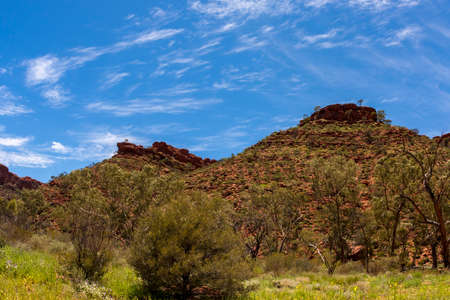 Kings Canyon, Northern Territory, Watarrka National Park, Australia 스톡 콘텐츠